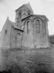 Eglise de Morlange - Abside et clocher