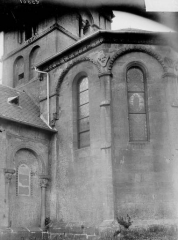 Eglise de Morlange - Abside, au sud