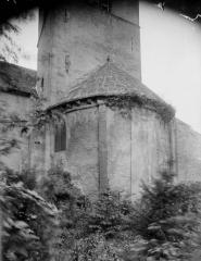 Eglise Sainte-Lucie, à Vallières - Abside