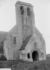 Eglise et cimetière qui l'entoure - Ensemble ouest