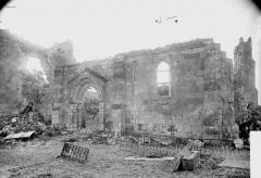 Eglise - Ruines, façade
