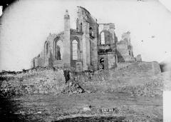 Eglise - Ruines, abside