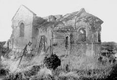 Eglise Notre-Dame - Abside, au sud