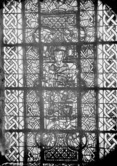 Cathédrale Saint-Maurice - Vitrail, La Vierge et l'Enfant
