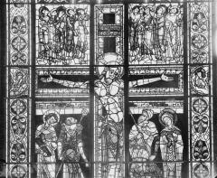 Cathédrale Saint-Pierre - Vitrail, partie haute