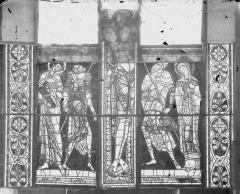 Cathédrale Saint-Pierre - Vitrail, partie basse