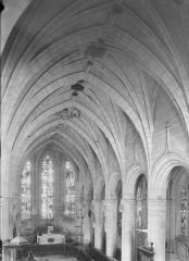 Eglise Saint-Martin - Nef, vue de la tribune