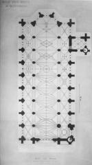 Eglise Saint-Martin - Plan