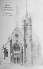 Eglise Saint-Martin - Elévation de la façade