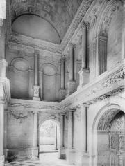 Château - Chapelle, intérieur du porche