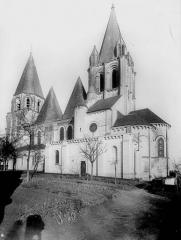 Ancienne collégiale Saint-Ours - Ensemble sud-est