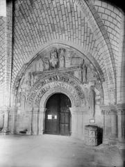 Ancienne collégiale Saint-Ours - Porche et portail