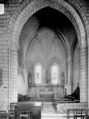 Ancienne collégiale Saint-Ours - Clocher ouest, voûte du premier étage