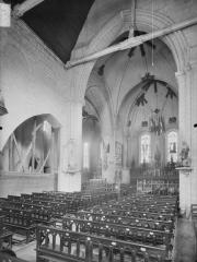 Eglise Saint-Martin - Nef, vue de l'entrée