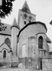 Eglise paroissiale Saint-Epain - Abside et clocher