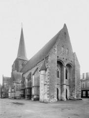 Eglise Saint-Christophe et Saint-Phalier - Ensemble nord-ouest