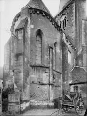 Eglise Saint-Christophe et Saint-Phalier - Abside, soubassement carolingien