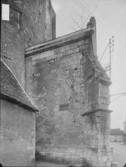 Eglise Saint-Christophe et Saint-Phalier - Bras nord du transept, soubassement carolingien