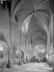 Collégiale Saint-Martin - Nef, vue de l'entrée