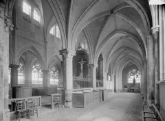 Collégiale Saint-Martin - Choeur, vue diagonale
