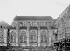 Collégiale Saint-Martin - Abside, côté nord