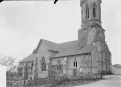 Eglise de Beauzée-sur-Aire - Ensemble nord-ouest
