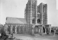 Ancienne cathédrale (église Notre-Dame) et ses annexes - Ensemble ouest