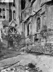 Ancienne cathédrale (église Notre-Dame) et ses annexes - Portail sud