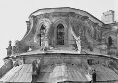 Ancienne cathédrale (église Notre-Dame) et ses annexes - Abside, partie supérieure