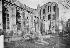 Ancienne cathédrale (église Notre-Dame) et ses annexes - Bras sud du transept