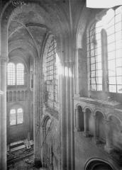 Ancienne cathédrale (église Notre-Dame) et ses annexes - Mur de la façade ouest, revers