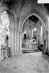 Ancienne cathédrale (église Notre-Dame) et ses annexes - Triforium du choeur, intérieur