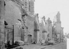 Ancienne cathédrale (église Notre-Dame) et ses annexes - Cloître, mur extérieur