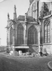 Eglise Saint-Etienne - Extérieur, chapelle