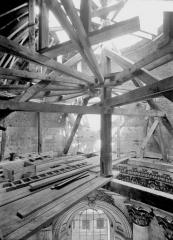Cathédrale Notre-Dame et Saint-Vaast - Chapelle de la Vierge, restauration de la coupole
