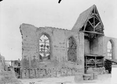 Eglise Saint-Amé - Bras nord du transept, intérieur