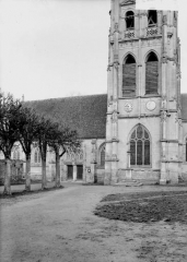 Eglise - Clocher, base