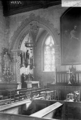 Eglise - Intérieur, vue diagonale