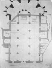 Eglise Saint-Jean - Reproduction du plan de Caraby