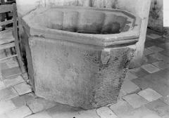 Eglise Notre-Dame - Fonts baptismaux