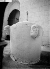 Eglise Notre-Dame-de-Fougeray - Fonts baptismaux