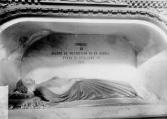 Eglise Sainte-Croix - Tombeau Jeanne de Mathefelon