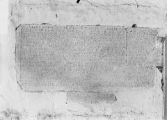 Eglise Saint-Maixent - Inscription