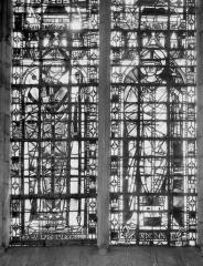 Eglise Sainte-Anne-de-Gassicourt - Vitrail du choeur, côté sud