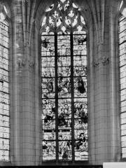 Eglise paroissiale Saint-Jean-Baptiste - Vitrail du chevet
