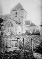 Eglise - Clocher et abside, au sud