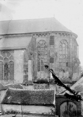 Eglise - Abside, au sud