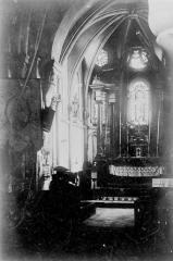 Eglise de Courmelois - Choeur