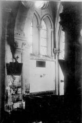 Eglise de Courmelois - Détail, intérieur