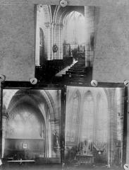 Eglise Saint-Georges - Trois vues intérieures